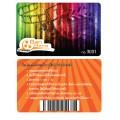 บัตรพลาสติก บัตรส่วนลด บัตรสมาชิก บัตรโฆษณา Card PVC 2 ด้าน ระบบ offset / Inkjet
