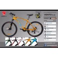 จักรยาน เสือภูเขาCANNELLO รุ่น VENTO 2.1