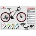 จักรยาน เสือภูเขา เฟรมอลู รุ่นใหม่ ทรงสวย ราคาประหยัด  Flying 26.4 (24 speed)