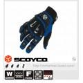 ถุงมือ Scoyco รุ่น MX14 สีน้ำเงิน