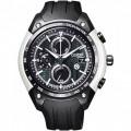 นาฬิกาข้อมือ CITIZEN TOYOTA86 Eco-Drive Chronograph Men\'s Watch รุ่น CA0385-06E