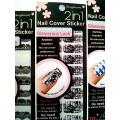 สติกเกอร์ติดเล็บหลายลายหลายสี96177 Nail Cover Sticker Glossy Blossom