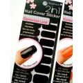 สติกเกอร์ติดเล็บหลายลายหลายสี96247 Nail Cover Sticker Glossy Blossom