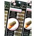 สติกเกอร์ติดเล็บหลายลายหลายสี96114 Nail Cover Sticker Glossy Blossom