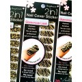 สติกเกอร์ติดเล็บหลายลายหลายสี 96117Nail Cover Sticker Glossy Blossom