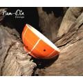 ถ้วยเซรามิค ลายส้ม ขนาด 4.5 นิ้ว