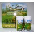 Vital Star ไวทอลสตาร์ น้ำมันรำข้าวและจมูกข้าว 8 กระปุก