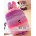 หมอนผ้าห่ม (หมอนซุกมือ ) 3 in 1 :: สีม่วง