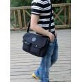 กระเป๋าแฟชั่น MMG สีดำ ใบกลาง แฟชั่นผู้ชายกระเป๋ายีนส์ งานเนี้ยบเทรนด์ฮิตติดชาร์ท สไตล์ Street 00362