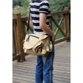 กระเป๋าแฟชั่น MMG สีน้ำตาล แฟชั่นกระเป๋าผู้ชาย ใบกลาง หนัง PU เนื้อนิ่ม Classic Design004138