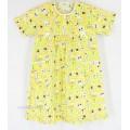 ชุดนอนเด็กหญิง ไซส์ 4-6 (กระโปรงแขนสั้น) ผ้าคัตตอน ราคายกแพค 3 ชุด 350 เลือกสีได้ค่ะ