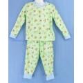 ชุดนอนเด็กชาย ไซส์ 3-4 แขนยาว ขายาว (คอกลม ขาจั๊ม) ผ้ายืด ราคายกแพค 3 ชุด 450 เลือกลายได้ค่ะ