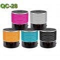 Ozaza ลำโพงแบบพกพา Mini speaker รุ่น QC-28