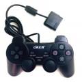 Ozaza OKER Joy Playstation 2 จอยเกมส์ รุ่น PSII-709 -สีดำ