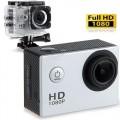 Ozaza กล้องกันน้ำ Action FULL HD 1080p Camera(สีเทา)