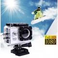 Ozaza กล้องกันน้ำ Action FULL HD 1080p Camera(สีขาว)