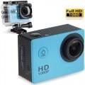 Ozaza กล้องกันน้ำ Action FULL HD 1080p Camera(สีฟ้า)