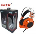 OKER Hi-Fi stereo headphone Gaming Headset รุ่น X92(สีส้ม)
