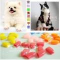 Nail Caps for Cat ปลอกเล็บกันการข่วน ใช้สวมที่เล็บทุกเล็บ รับรองไม่มีรอยข่วนสีชมพู size M