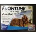 Frontline Plus สำหรับกำจัดหมัด ไข่หมัด และเห็บ ชนิดหยดหลัง สำหรับสุนัขน้ำหนัก 10-20 kg.