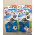 Sale ของเล่นสุนัข Nylabone ผลิตภัณฑ์ที่เอาไว้ขัดฟันPuppy Fish-petite