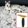 หวีFurminator สำหรับสางขนสุนัขที่ผลัดขน ไซส์L(สั้น/ยาว)หนัก23kg.up ของแท้100