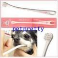 แปรงสีฟันสำหรับสุนัขMind up นำเข้าจากญี่ปุ่นสำหรับสุนัขเล็กรุ่นด้ามองศา15องศา