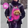 เป้ อุ้มสุนัข สีน้ำเงินสินค้านำเข้าแบรนด์ USA PAWS sizeXLสำหรับสุนัข 1-8 kg.