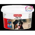 Beaphar top 10 multivitamin tablets วิตามินรวมสำหรับสุนัข 180 เม็ด  ทานง่าย ครบครัน