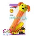 ของเล่นสุนัขรูปหมาสีส้ม Petstage Durable Play Stix(ไม่มีนุ่นยัด)มีเสียงปิ๊บๆ