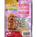 ขนมหมาDog treat ไก่ม้วนชีส 50กรัม เซ็ทราคาพิเศษ12 ซอง