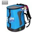 กระเป๋าใส่สุนัขแมว Touchdog High dream 2 IN 1 ดีไซน์เก๋สะพายข้างสายสะพายยาว สีฟ้า รับได้ 1-5kg