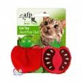 ของเล่นแมวนำเข้า All for Cat เสริมทักษะ รูปมะเขือเทศสีแดง (มีแคทนิปในตัว)
