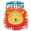 ผ้าเช็ดตัวสุนัข   มีฮู๊ดแฟนซีสิงโตสีส้ม Four Paws Magic Coat Bath Time Towel for Dogs-Frog S/M