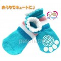 ถุงเท้าสุนัข-แมวนำเข้า  มียางกันลื่น ลายน่ารัก ไซส์ M(จัดส่งฟรี)