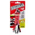 ของเล่นสุนัข Dogzilla snarl  tug ของเล่นยางเรซินกัดพร้อมเชือกไว้ดึง S  ยาว 19cm