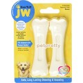 ของเล่นสุนัขJW Pet-EverTuff เหมาะกับสุนัขที่แรงกัดสูง L ยาว 5.5นิ้วมีรสไก่และเนยถั่ว(2ชิ้น)