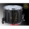 MING Marching Snare Drum รุ่น ROYAL SERIES : RMS1412HS-PBK