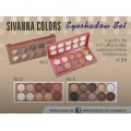 Sivann make up palette for beauty (HF-311) เซทพาเลททาตา 10 สี เบอร์ 2