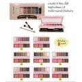 Odbo Make-up series 3 in 1 อายแชโดว์ + บรัชออน + เขียนคิ้วฝุ่น อายแชโดว์ เซ็ท 8 สี (เบอร์5)