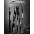 Cosluxe Slimbrow Pencil ดินสอเขียนคิ้ว สูตรกันน้ำ(สี Latte น้ำตาลนม สีน้ำตาลอ่อน)