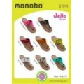 MONOBO รุ่น Jello BASIC รองเท้าแตะยางหูคีบทรงเหมือนคนใต้