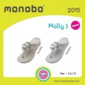 MONOBO รุ่นMOLLY3 รองเท้าแตะยางหูคีบดอกไม้ โมโนโบ มอลลี่ 3