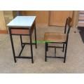 pmy2-26 โต๊ะเก้าอี้นักเรียน A4 มัธยม แบบหน้าโฟรเมก้าขาว