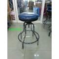 pnk1-36 เก้าอี้กลมห้องปฏิบัติการ ที่นั่งหุ้มหนัง PVC
