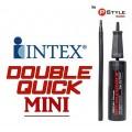 Intex Double Mini ที่สูบลมมือถือ พกพาอเนกประสงค์ แถมฟรี ชุดกาวซ่อมแซมรอยรั่ว INTEX