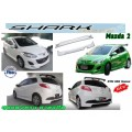 ชุดแต่ง Mazda2 5ประตู ทรง SHark Speed