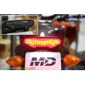 Motodynamic Yamaha FZ-09 Sequential LED Tail Lights Smoked