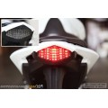 Motodynamic Triumph Daytona 675/675R Street Triple Sequential LED Tail Lights Smoke (2013-2015)