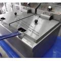 หม้อทอดไฟฟ้า 2 อ่าง (เตาทอดไฟฟ้า) ความจุ 17 ลิตร สแตนเลสทั้งตัว ยี่ห้อซันชายน์